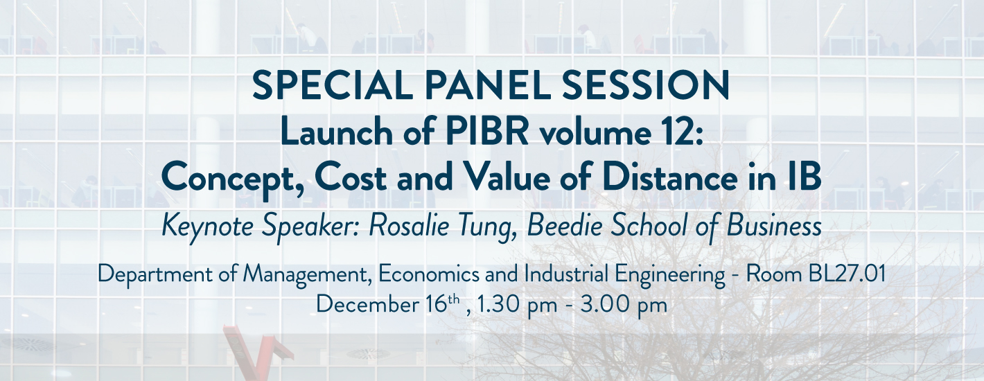 Special Panel Session
