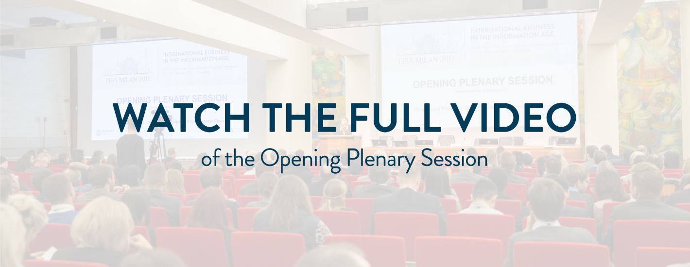 Opening Plenary Session: the video